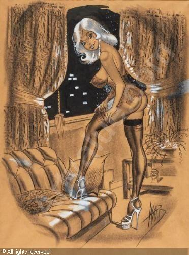 ward-bill-1919-1998-usa-men-s-magazine-cartoon-illustr-2567743.jpg (372×500)