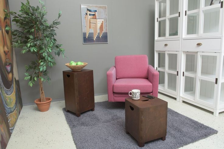 Kliks Design Seat and Tall in NEW COLOURS! They perfectly fit in your living room