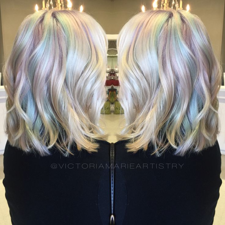Opal hair.