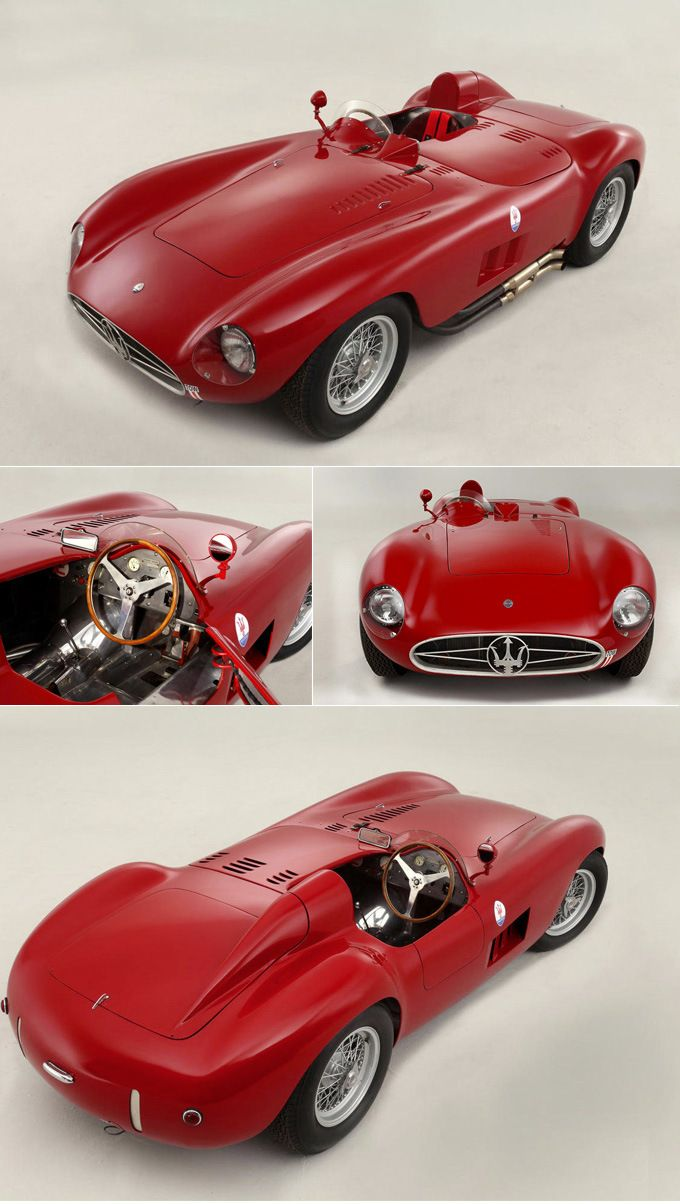 1955 Maserati 300S Sports. ☆.¸¸.•´¯`♥ pinned by http://www.wfpcc.com/stuartrealestate.php ♥´¯`•.¸¸.☆