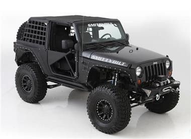 2007-2016 Jeep Wrangler 2 Door Smittybilt XRC Armor Front \u0026 Rear Kit