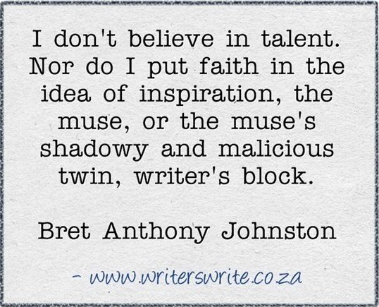 ~ Bret Anthony Johnston ~ #writing