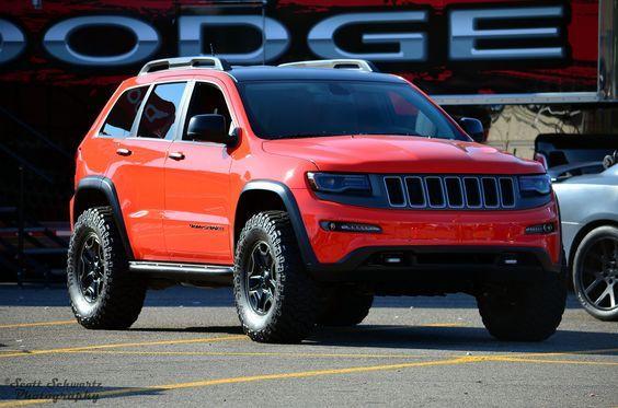 """fullthrottleauto: """"Jeep Grand Cherokee Trailhawk II (by scott597) """""""