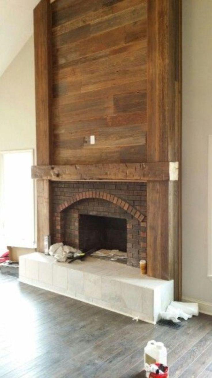 Best 20+ Fireplace update ideas on Pinterest | Brick ...