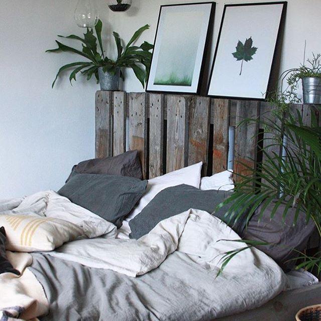 🌿 Bare man kunne blive liggende her 💤 Super dejligt soveværelse hos @fiefroeling