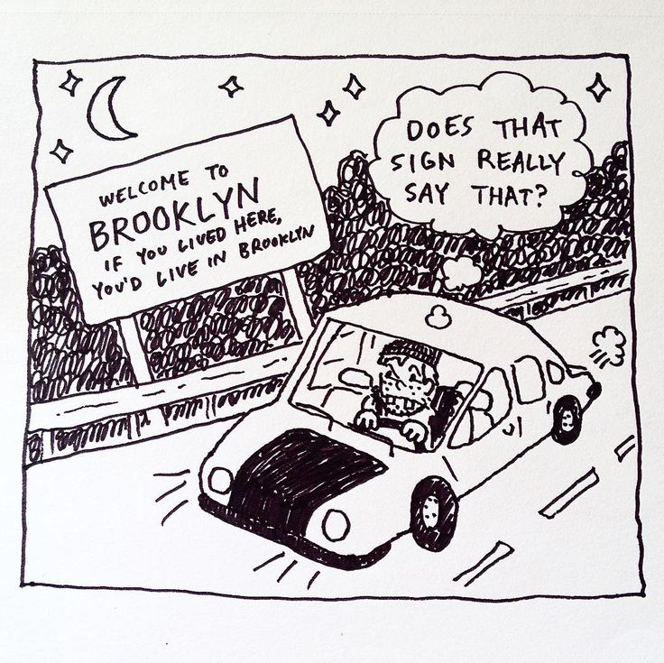 NO SHIT SIGNLOCK #brooklyn #newyork #city #driving #doodle #drawing #art #illustration #cartoon #comic #sketch #car #selfie #funny #sign #picoftheday