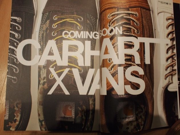 Carhartt x Vans Old Skool.. coming soon!Vans Collaborative