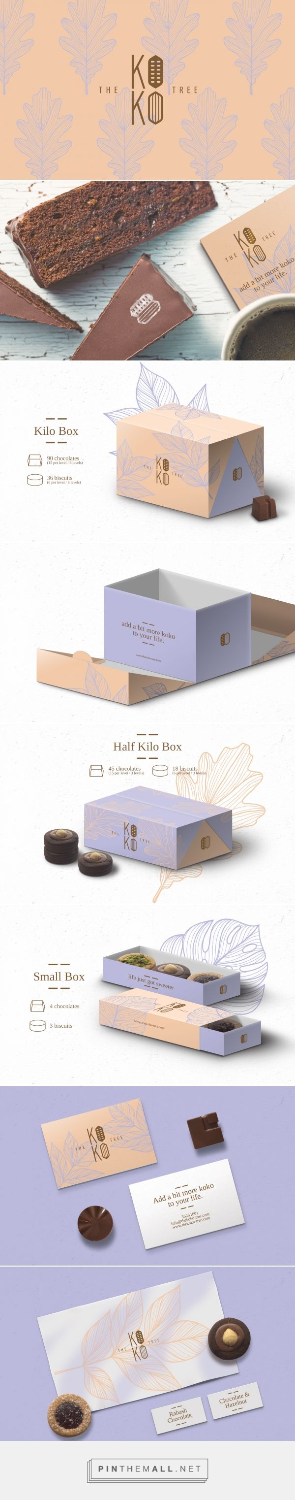 Branding, graphic design and packaging for The Koko Tree on Behance by Studio AIO Shuwaikh, Kuwait curated by Packaging Diva