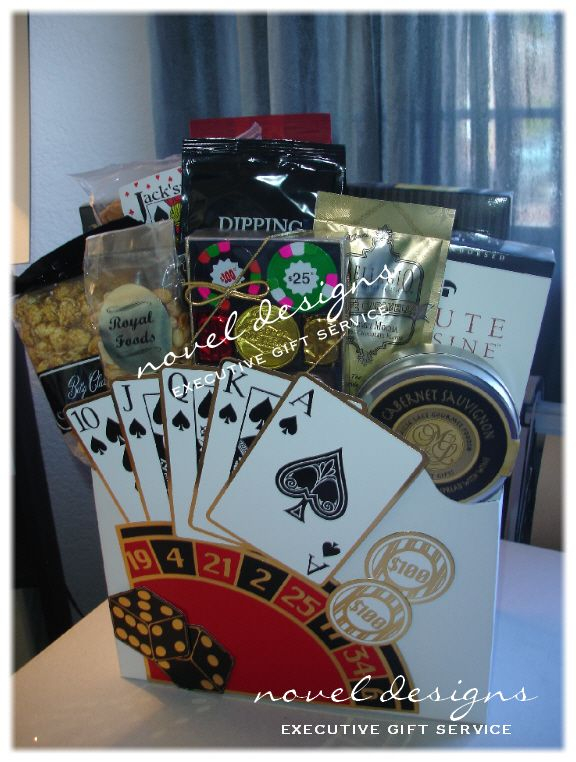 Themed Gift Box Ideas : Images about las vegas gift baskets on