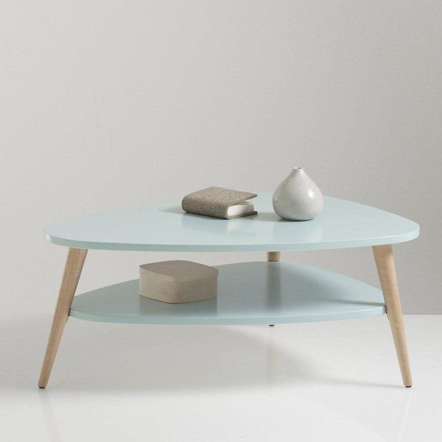 Table basse carr e pin massif brut et m tal 100 cm city - Plateau pour table basse ...