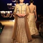 """Manish Malhotra famous Indian fashion designer has recently revealed its bridal wear collection at India Couture Week 2014 held in New Delhi. Manish Malhotra has named this collection as """"Portraits"""""""