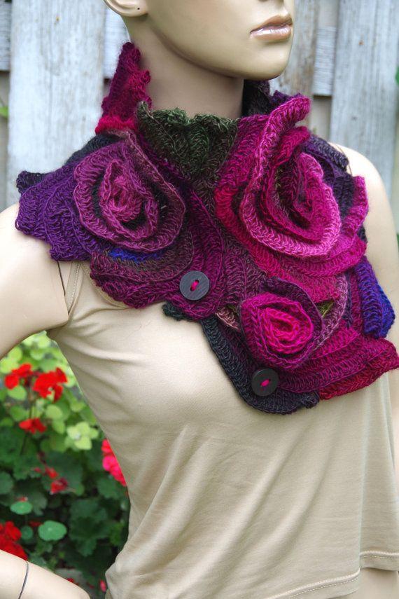 The 200 best Freeform images on Pinterest   Freeform crochet ...