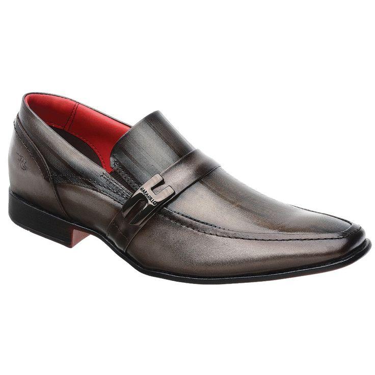 Sapato Rafarillo Magnum em Couro Topázio com Solado Borracha 3305 - FKV Calçados