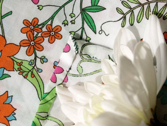 Handstitched Liberty of London Meadow Flowers Print by hillanddale