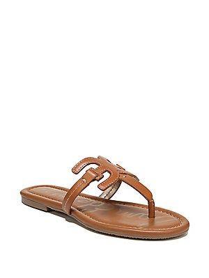 ce2f0ad5c Sam Edelman Carter Leather Flip Flops