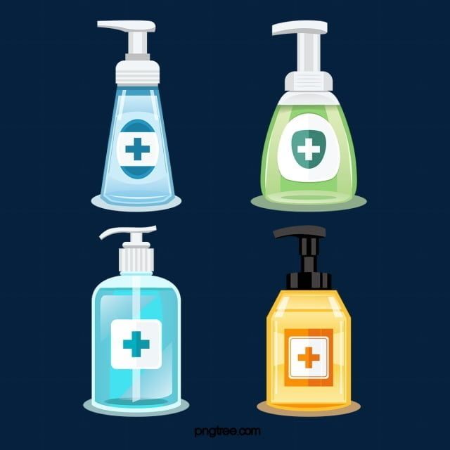 Color Disinfection Hand Sanitizer Hand Soap Hygiene Healthy Png And Vector With Transparent Background For Free Download Hand Sanitizer Disinfect Hygiene