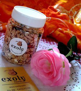Granola Kudapan Sehat  Hai semuanya.......yuk makan kudapan yang sehat....Granola dari Exoly dengan varian rasa vanila dan pisang. Untuk informasi dan pemesanan silahkan jangan ragu-ragu untuk menghubungi Exoly. URL: http://bit.ly/2roDSSP Managed by: IKAHANA http://bit.ly/2pL8aPu