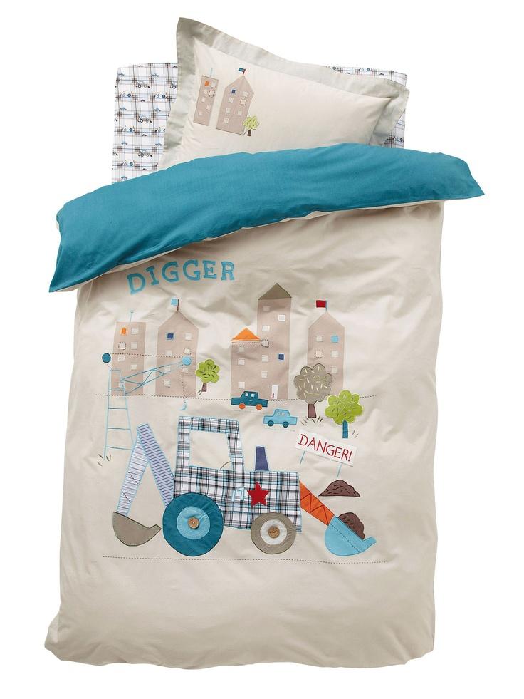 housse de couette gar on p 39 tit chantier baby boy room. Black Bedroom Furniture Sets. Home Design Ideas