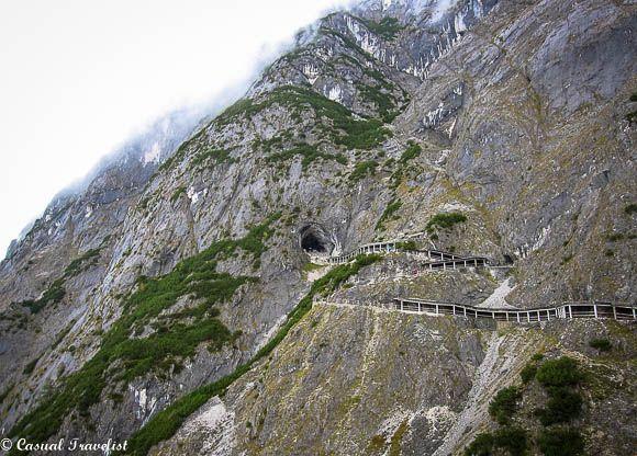 The Ice Caves of Werfen, Austria