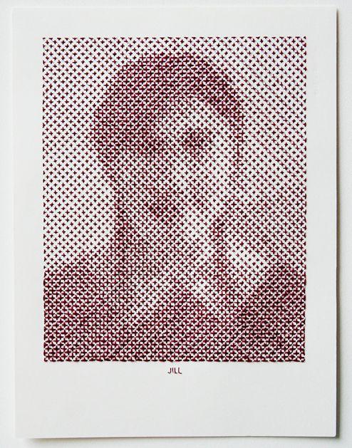 Mejores 264 imágenes de Con Hilo en Pinterest | Arte con bordado ...