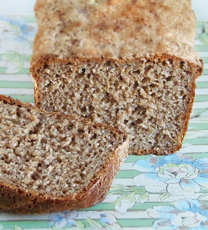 Chleb żytnio-orkiszowy na zakwasie orkiszowym
