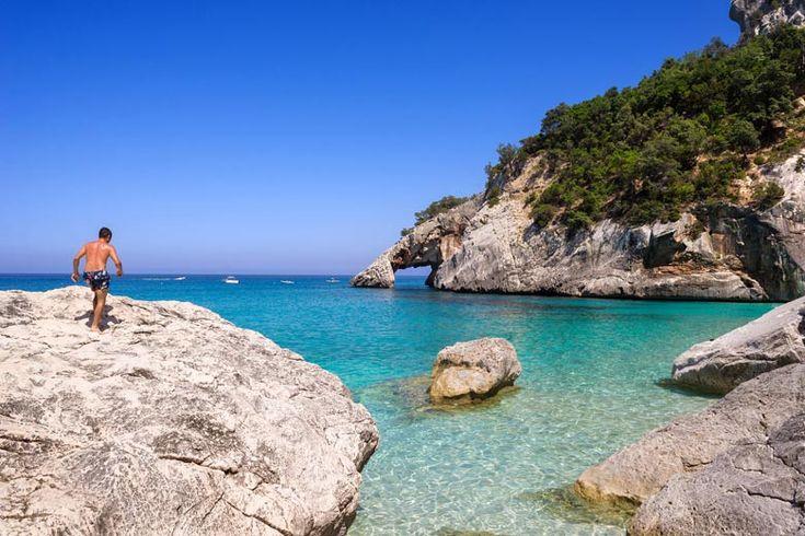 Cala Goloritzé, Sardinia | Sardinia's best beaches, from sandy to pebbly to pink | Weather2Travel.com #italy #beach #travel