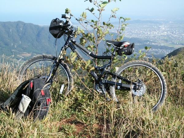 My mountain bike In the Hiraodai