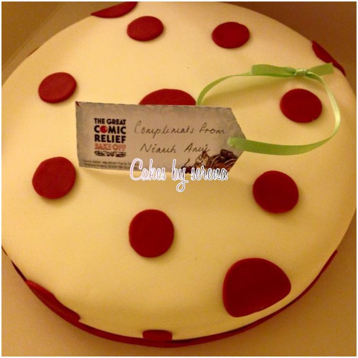 Comic relief bake off cake recipes