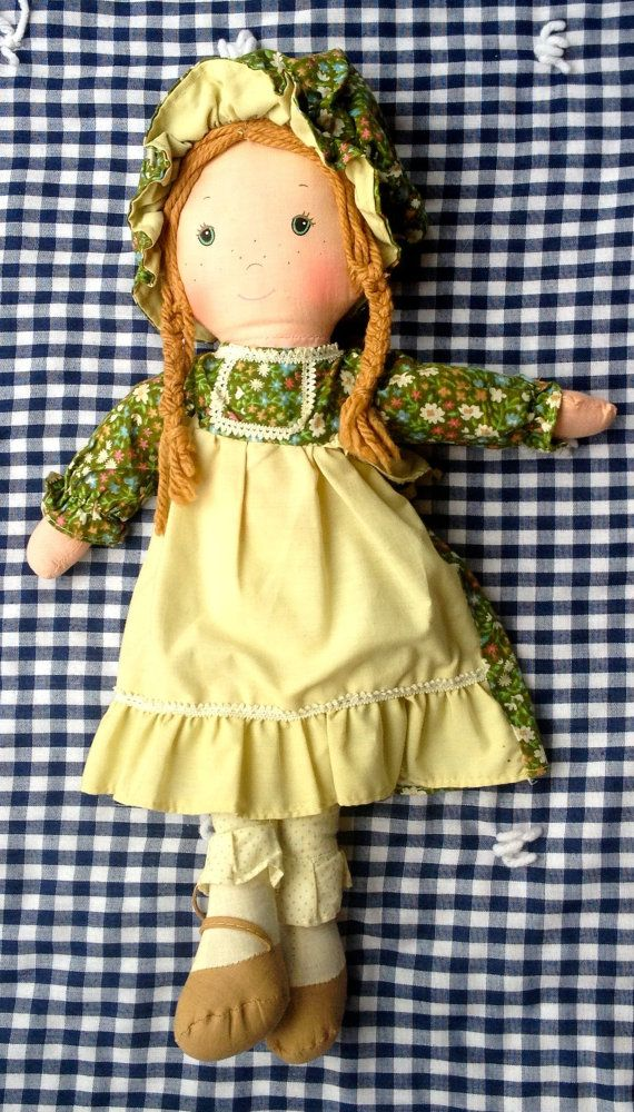 """70s Holly Hobbie Doll, """"Amy"""", by lishyloo on Etsy, $10.00"""