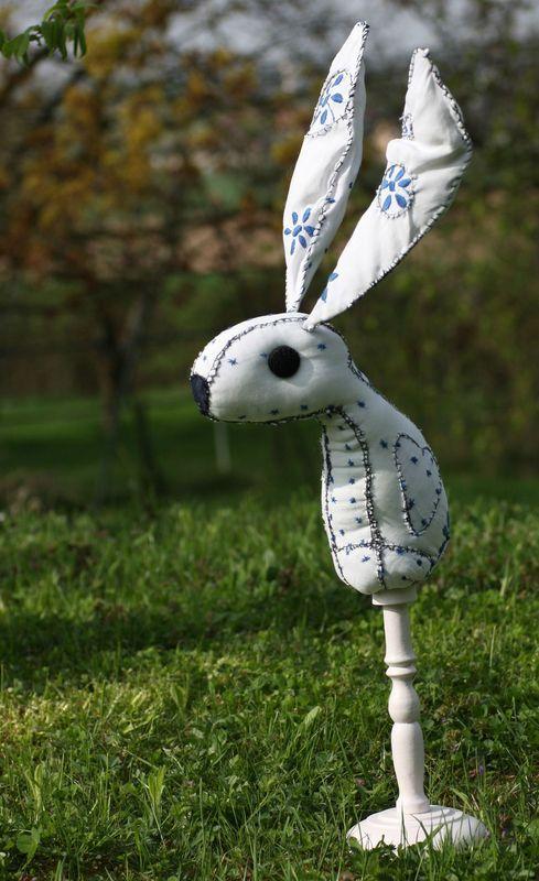 Ce matin...un froid de lapin...chagrin