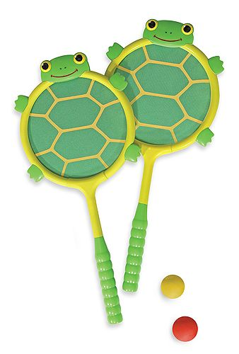 Tootle Turtle Racquet & Ball Set: must have for (grand) daddy-daughter bonding