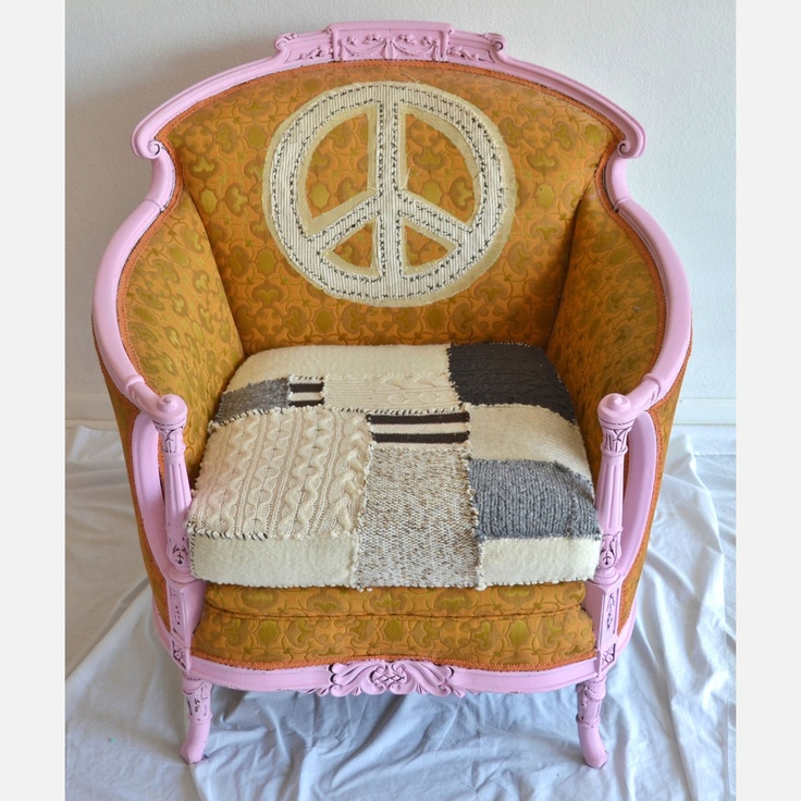 Peace chair from JIPSI on Fab