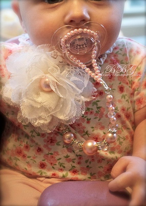 Baby Boutique 4in1 Beaded Pacifier Holder por BabyBoutiqueGallery