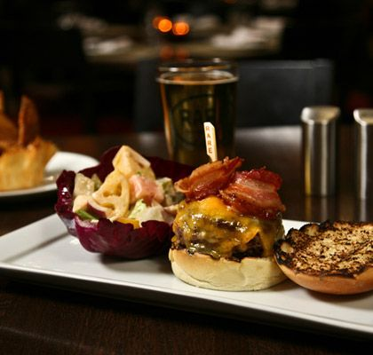Rare Bar and Grill in Chelsea-Great Organic burgers!