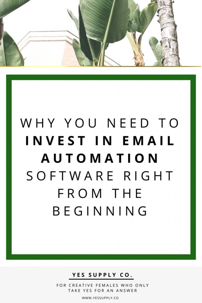 Why You Need to Invest in Email Automation Software Right from the Beginning?Transform the Way You Grow Your Business, the power of email automation. This article will helps entreprenuer, girlboses. Entrepreneurs, female business owners, girlboss, bossbabe strategies organized email list. For mre info Go read www.yessupply.co