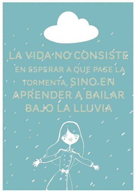 Lucía Be: Bailar bajo la lluvia