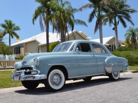 Sedans chevy and nice on pinterest for 1952 chevrolet styleline deluxe 4 door