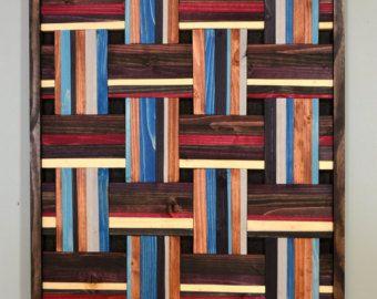 Wood wall decor DREEEEEAAAAM WEAVER wood wall di StainsAndGrains