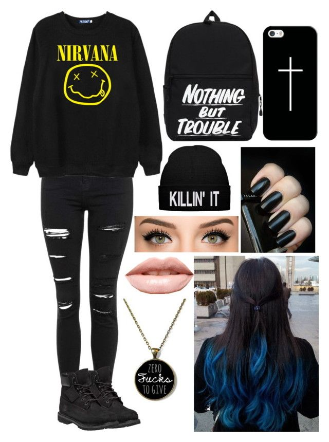 """Jade West (from victorious) inspired outfit"" by x1dlover4everx ❤ liked on Polyvore featuring Topshop, Chicnova Fashion, Timberland, Casetify and LASplash"