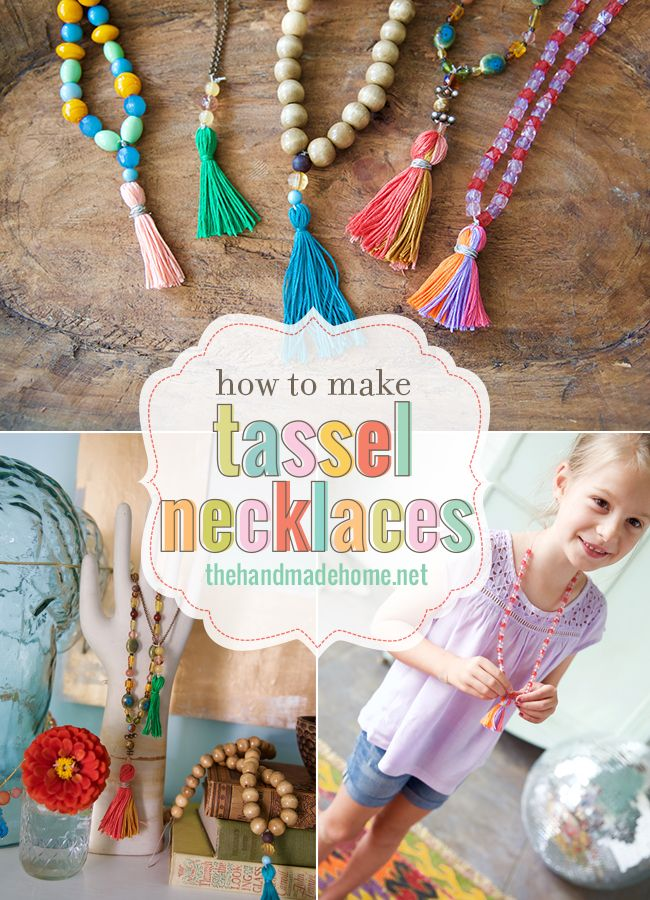 how_to_make_tassel_necklaces Please Follow Us @ http://diygods.com/ #diy #jewelry #pinterest