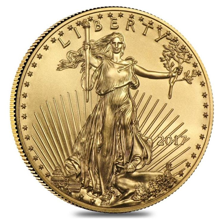 2017 1/10 oz Gold American Eagle $5 Coin BU 2017 1/10 oz Gold American Eagle $5 Coin BU Specifications: Condition: Brilliant Uncirculated Year: 2017 F... #coin #eagle #american #gold