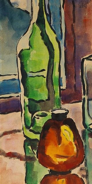 Bottle still life. 1940