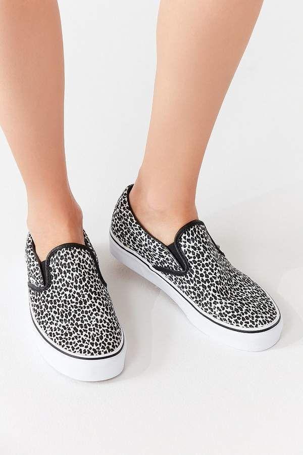 f09c21d56d6d Mini Leopard Classic Slip-On Sneaker #uppers#allover#canvas   Black ...