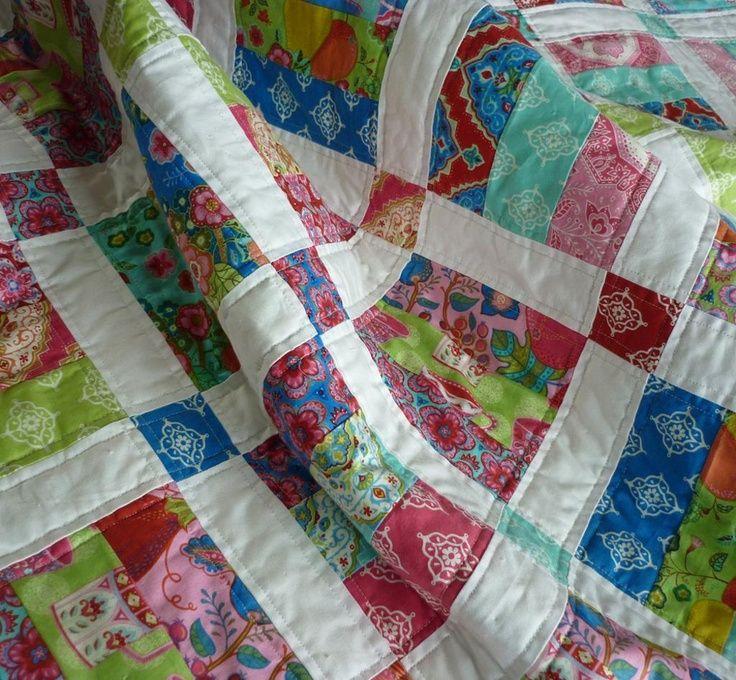 Jelly Roll Quilt Patterns | Jelly Roll Quilt Pattern - 6 sizes | Food