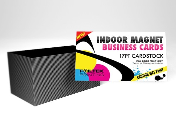 """2"""" X 3.5"""" Indoor Magnet Business Cards , $90.00 (http://www.foiltekprinting.com/products/2-x-3-5-indoor-magnet-business-cards.html)"""