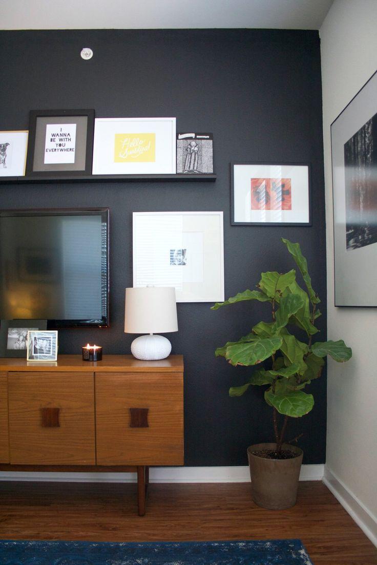Best 25 Black Accent Walls Ideas On Pinterest Black