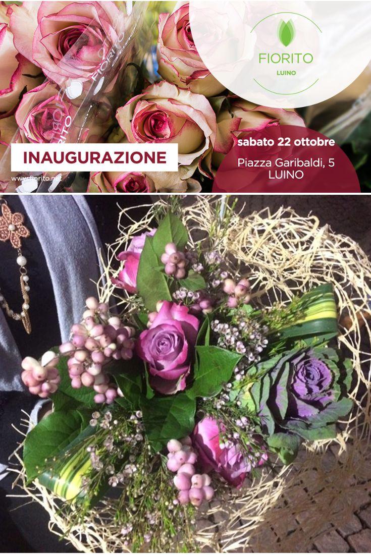 Una fantastica #composizione di #fiori direttamente dall'inaugurazione di sabato di #fiorito #luino! #bouquet #fiori #inaugurazione #puntovenditafiorito #negoziodifiori