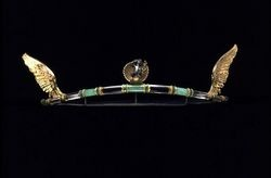 Rock Crystal, Chrysoprase, Enamel and Silver Arts & Crafts Tiara Henry Wilson c.1908. Victoria & Albert Museum Collection.: Tiaras Henry, Museums Collection, Silver Art, Henry Wilson, Art Crafts, Art Nouveau, Rocks Crystals, Crafts Tiaras, Albert Museums