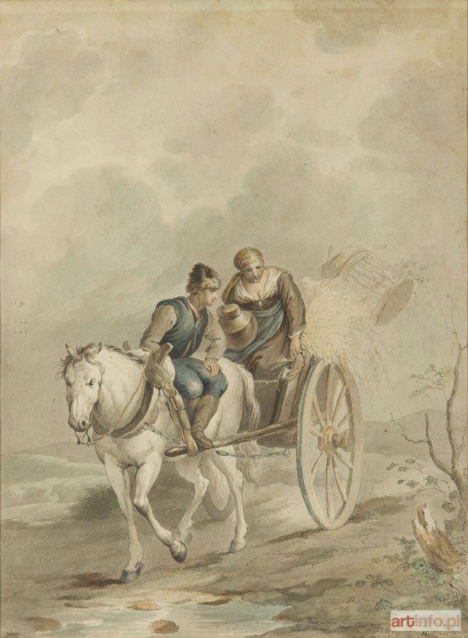 de la GOURDAINE Jan Piotr NORBLIN ● Jan Piotr Norblin de la Gourdaine przypisywany (1745 Misy-Faut-Yonne - 1830 Paryż) ? ●