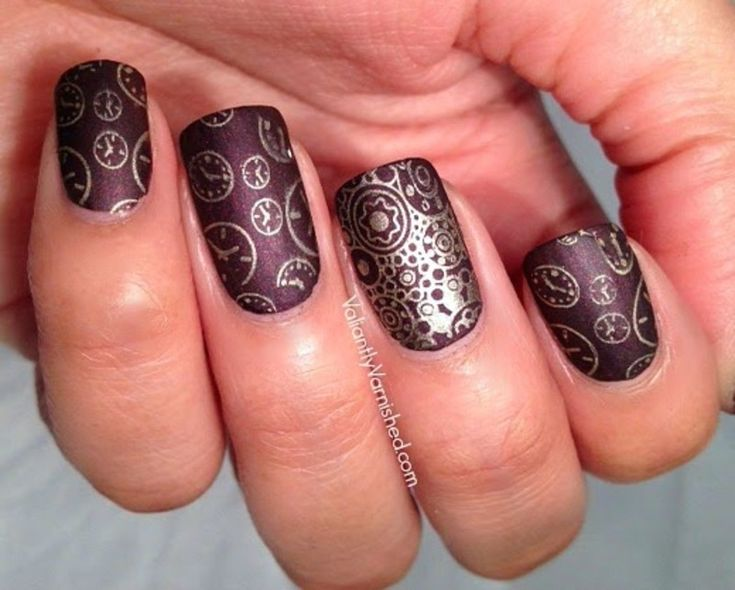 The 25 best steampunk nails ideas on pinterest pretty nails nailpolis museum of nail art steampunk nail art inspired by ticker by lisa mantchev by prinsesfo Gallery